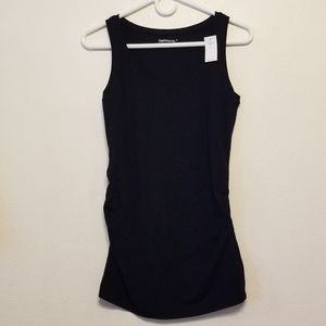 Gap Maternity pure body black tank top